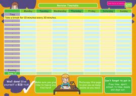 guide  effective revision book  timetable teaching resources