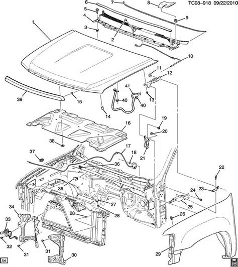2005 Chevy Tahoe Parts Diagram  30 Wiring Diagram Images