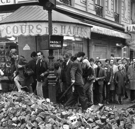 Mai 68, Paris, France  Vintage  Pinterest  Paris Et