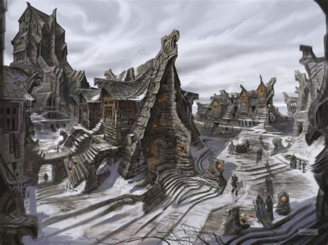 New Elder Scrolls 5 Skyrim Artwork Screenshots Prima