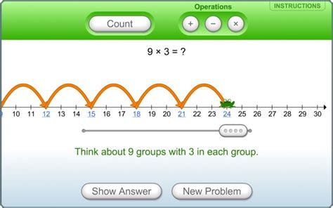 grade math hopping   number  learning
