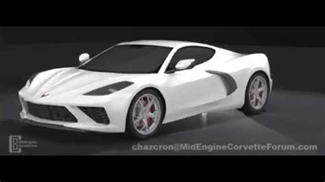 mid engine corvette   degree treatment  fan render