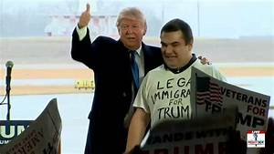 Secret Service let random legal immigrant take stage at ...