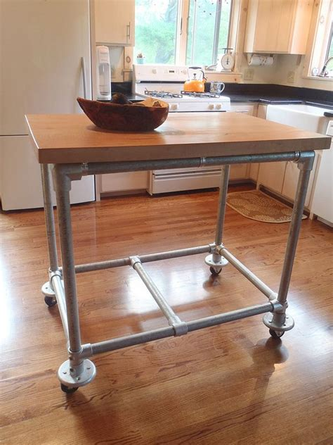 rolling island for kitchen rolling kitchen island luv elegant and funky spaces pinterest