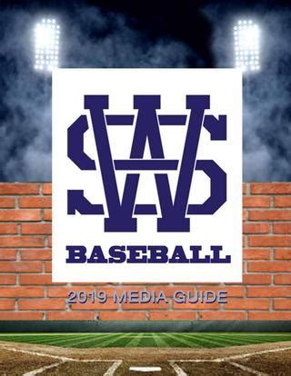 Welcome to the 2021 ahsaa northwest regional tournament. 2019 Baseball Media Guide by Wallace State Community ...