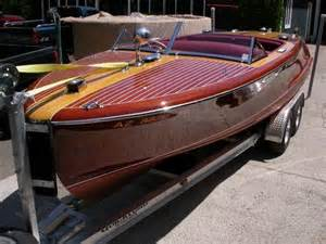 Wood Speed Boats For Sale Images