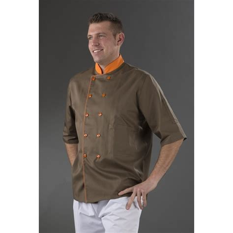 veste cuisine personnalis馥 awesome veste de cuisine orange photos lalawgroup us lalawgroup us