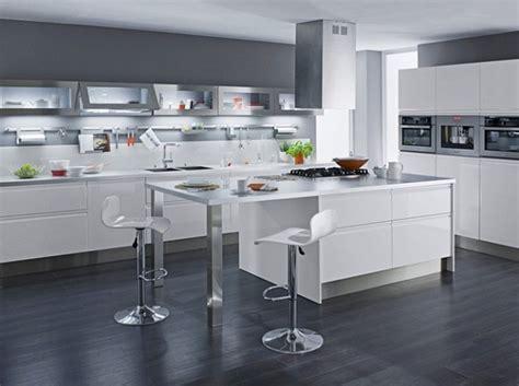 décoration cuisine blanc bois
