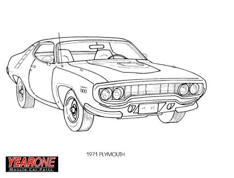 1967 Pontiac Gto Coloring Pages