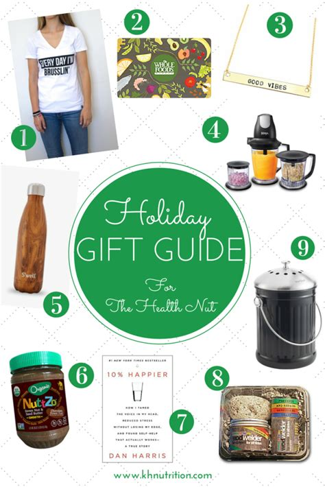 holiday gift ideas for the health nut kh nutrition