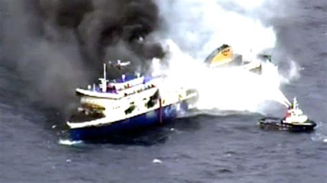 Fireboat In Italiano by Toll Rises To 10 In Italian Ferry Dozens
