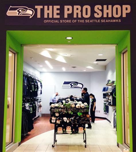 seahawks pro shop opens  bellevue square  time