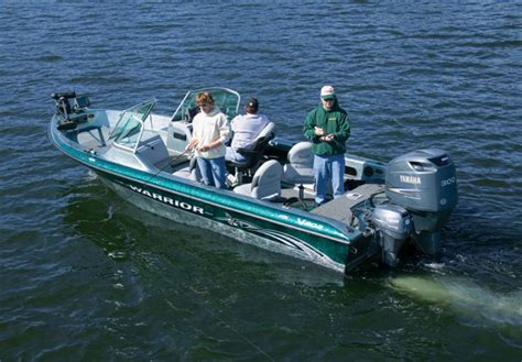 Warrior Boats by Research 2009 Warrior Boats V203 Dual Console Eagle On
