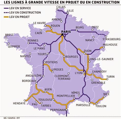 foto de Culture STMG: Le réseau TGV modifie les distances en France