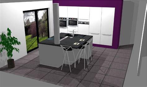 cuisine avec poteau au milieu avis electro hotte plafond ou plan de travail 22 messages