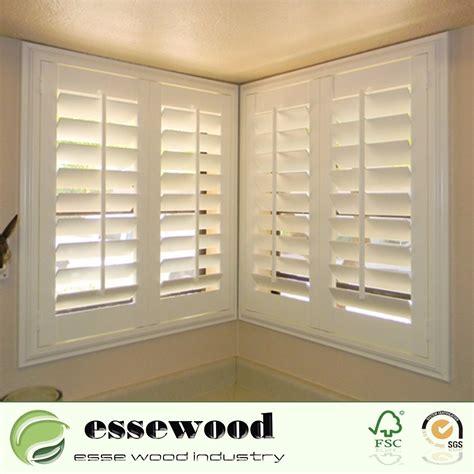 china reinforced vinyl wrapped white pvc window plantation