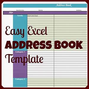 Laura39s plans easy excel address book template for Microsoft excel address book template