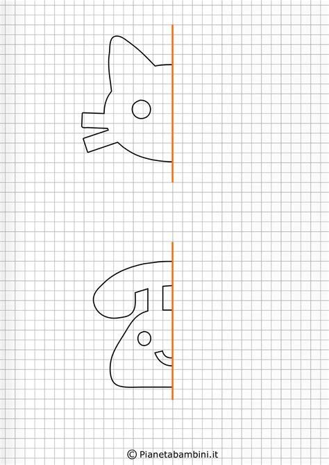 bambini gioco disegno giochi di simmetria per bambini disegni da completare