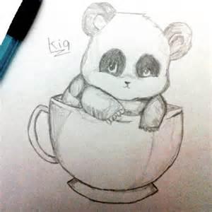 Cute Baby Panda Drawings