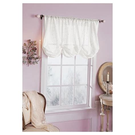simply shabby chic curtains for sale embroidered batiste balloon window valance white 60 quot x63 quot simply shabby chic target