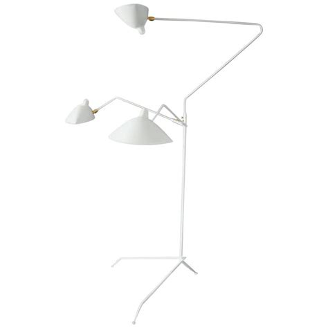 serge mouille three rotating arms floor l for sale at 1stdibs