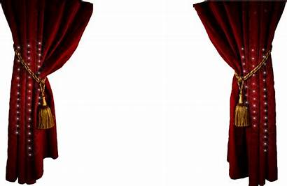Curtains Curtain Transparent Theater Stage Theatre Clipart