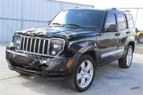 crashed jeep liberty buy used 2012 jeep liberty limited jet damaged salvage