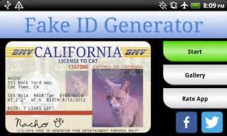 Free Fake Id Template   Sample Document CV