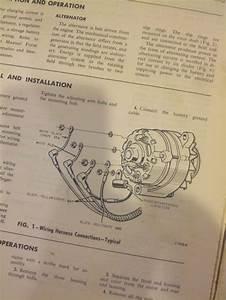 1966 Alternator    Regulator Wiring