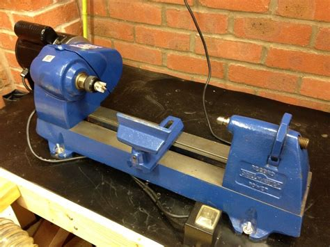 wood lathe record woodworking bench vise   usa