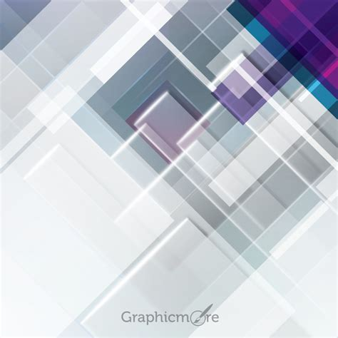 abstract rectangles background design  vector file