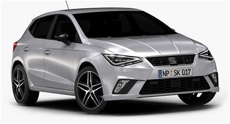 2018 Seat Ibiza Interior Model  Turbosquid 1164954