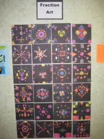 Math Fraction Art Project
