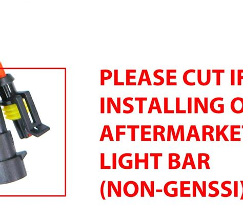 Genssi Led Wiring Harnes by Genssi Rugged Series Harness Led Switch Genssi Led