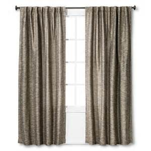 tweed curtain panel threshold target