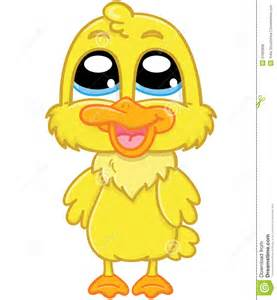 Cute Cartoon Baby Duck