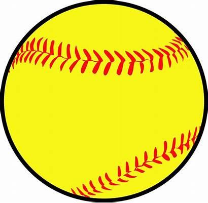 Clipart Softball Transparent Clip Baseball Library Outline