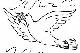 Pigeon Coloring Page 12266