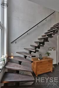 Schöner Wohnen Treppenhaus : betonoptik schalungsbeton rostoptik sch ner wohnen macht freude meinmaler partner ~ Markanthonyermac.com Haus und Dekorationen