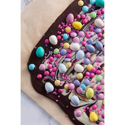 Easter Candy Bark - The Sweetest Occasion