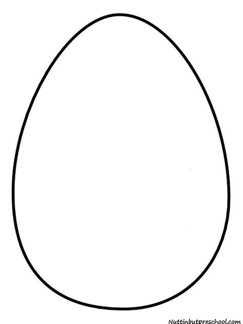 Egg Template Easter Egg Templet Easter Egg Pattern And Shiny Paint