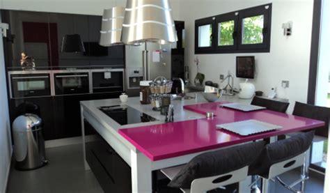 mod鑞e cuisine avec ilot central cuisine avec ilot central arrondi maison design bahbe com