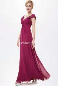 robe longue habillã e pour mariage robe longue fluide et décolleté en mousseline