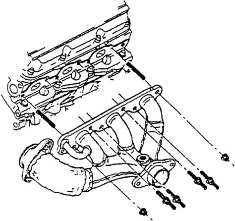 1998 Lumina Engine Diagram Exhaust by Repair Guides Engine Mechanical Components Exhaust