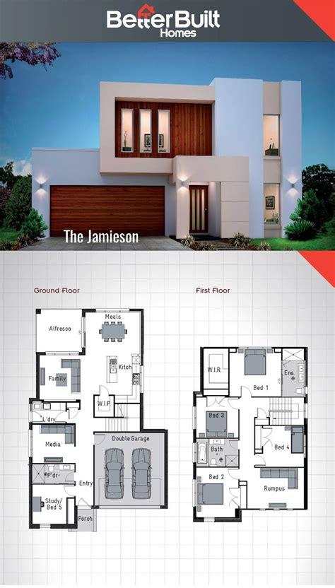 jamieson double storey house design  sqm