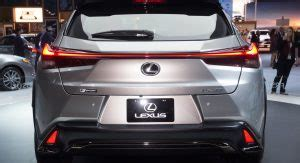 lexus ux crossover will go to production the 2019 lexus ux small suv gets up to 168hp in u s