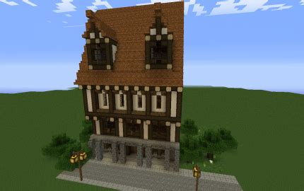 medieval styled townhouse creation