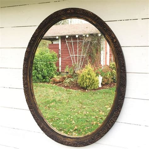 Black Oval Bathroom Mirror by 17 Best Ideas About Oval Bathroom Mirror On