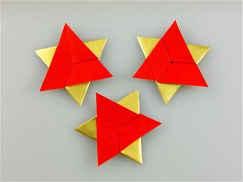 sechszackstern modular origami kunst
