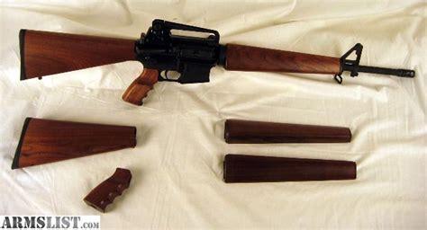 armslist  sale ar wood stock set premium walnut
